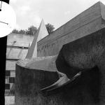 Sainte Marie de La Tourette no1 Dominican Orderpriory, Lyon, France Le Corbusier and Iannis Xenakis architects 1956 - 1960 © Jerominus 1996