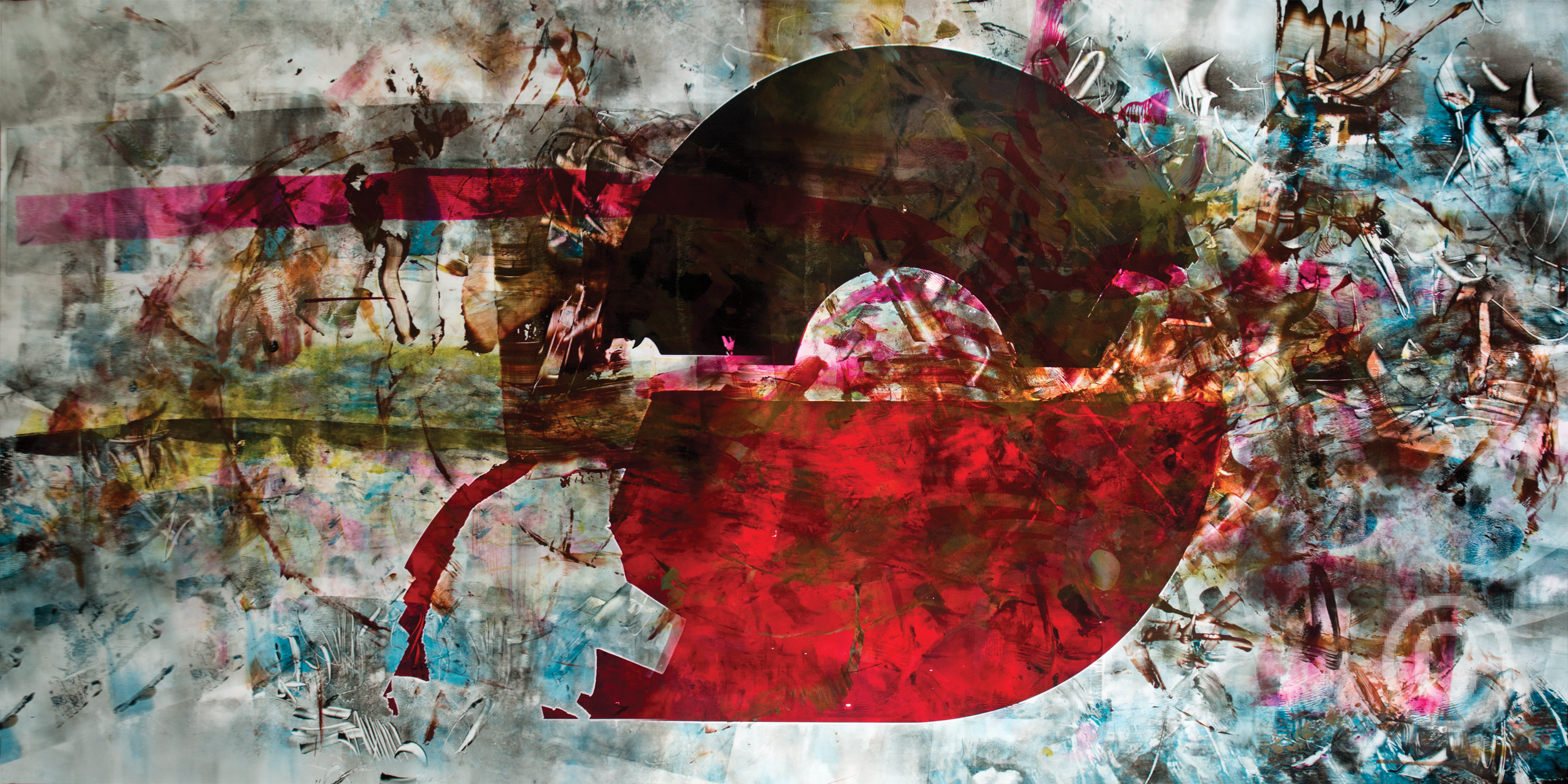 Rétro-production rouge © Prosper Jerominus, 2015