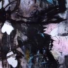 Dances (detail) (Hommage a Trévisse) [158 x 93cm] Acrylic onfine linen © Prosper Jerominus, 2015