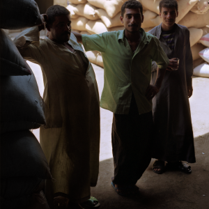 Three Men Souk, Cairo © Prosper Jerominus, 2001