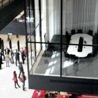 University Library De Uithof, Utrecht Netherlands Wiel Arets & Associates, 1995 - 2004 © Prosper Jerominus 2010