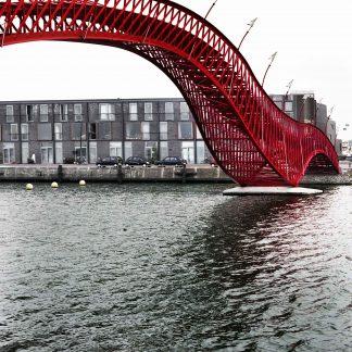 Anaconda or Python Bridge Oostenlijk Havengebied, Amsterdam, The Netherlands Adriaan Geuze, Daniel Jauslin, Rudolph Eilander / West 8 architects, 2001 © 2005 Prosper Jerominus