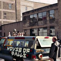 Allen Christian, artist House of balls Minneapolis, Minnesota, USA © Prosper Jerominus