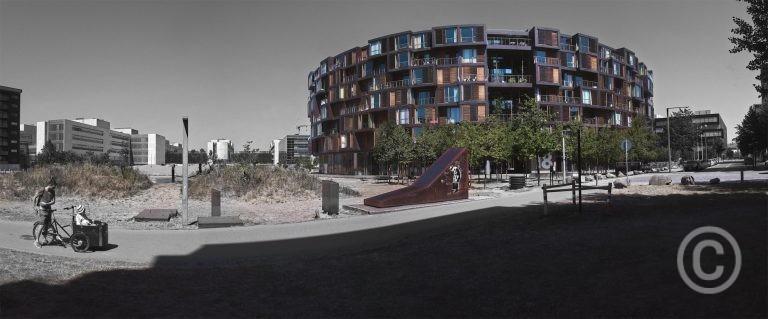 Tietgenkollegiet Student Housing, Copenhagen DK Lundgaard & Tranberg architects 2005 © Prosper Jerominus 2018