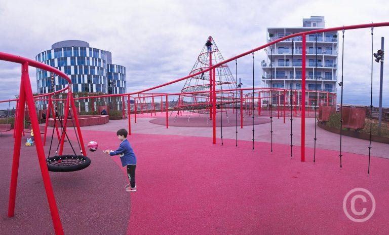 Konditaget Lüders Park - Playing Nordhavnen, Copenhagen, Denmark © Prosper Jerominus 2018