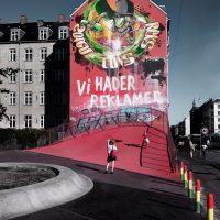 We hate advertising Superkile, Copenhagen, Denmark © Prosper Jerominus 2018