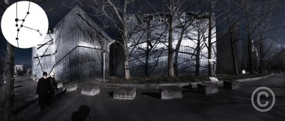 Architecture photography - Heritage - Winter walk - Jewish Museum Berlin Daniel Libeskind architect, 1993-1999 © Prosper Jerominus 2018