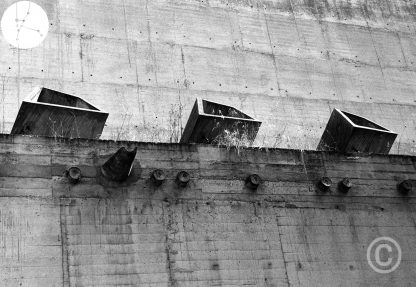Architecture photography - Heritage - The Dominican Convent of La Tourette, France. UNESCO World Heritage Sites (in 2016) Le Corbusier, Iannis Xenakis, André Wogenscky architects 1959-1965
