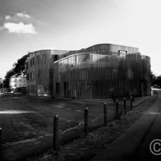 Nursery House – Nørrebro Copenhagen (black and white) Forfatterhuset Kindergarten COBE architects, 2014 © Prosper Jerominus 2018