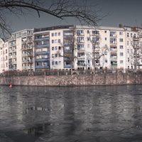 Spree in Ice Charlottenburg Berlin © Prosper Jerominus 2018