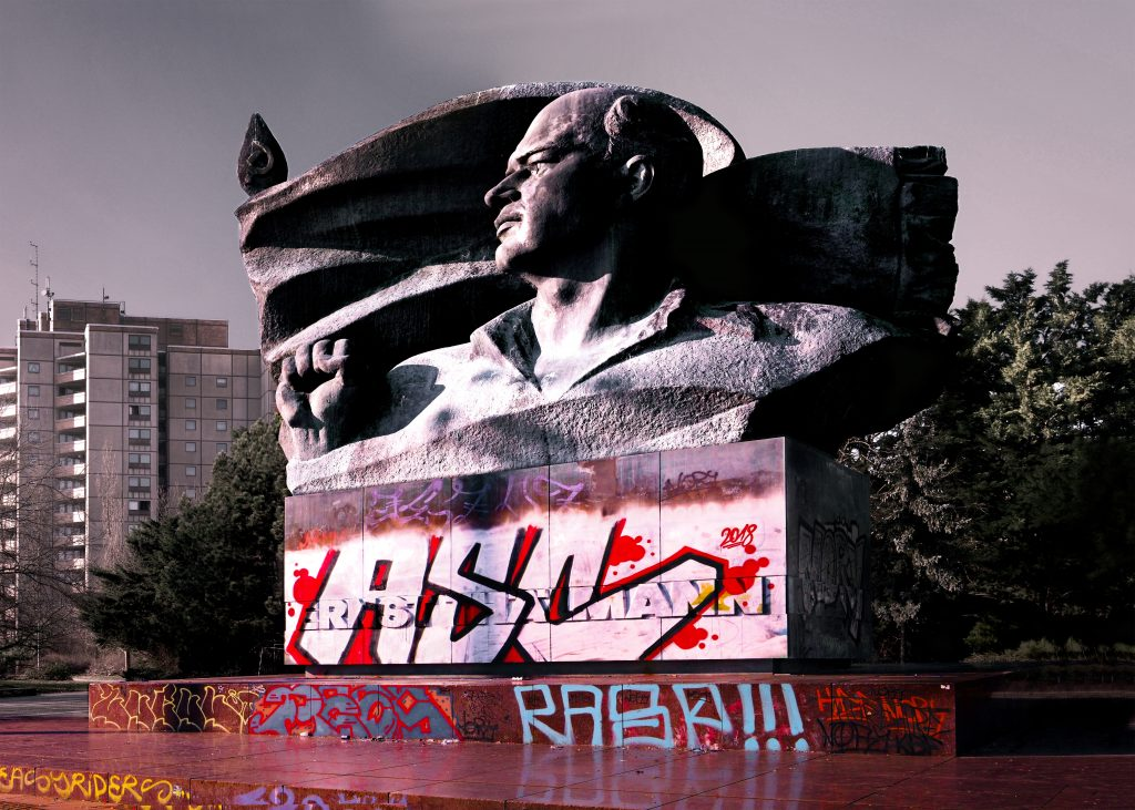 The Ernst Thälmann Monument, Berlin 1981-1986 - Sculptor Lew Jefimowitsch Kerbel © Prosper Jerominus 2018