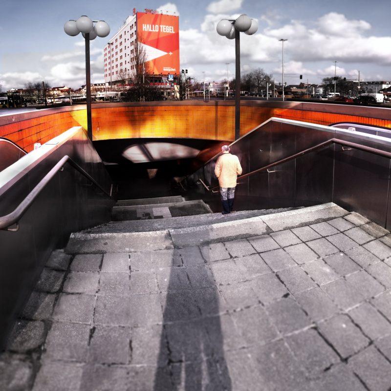 Hallo Tegel -Station underpassMesse Nord/ICC Berlin © Prosper Jerominus 2018