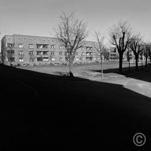 Siedlung Schillerpark Berlin Bruno Taut, Martin Wagner architects (1924-1930) Unesco World Heritage (2008) © Prosper Jerominus 2018