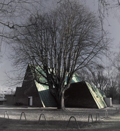 The Studio for Electroacoustic Music Akademie der Künste, Berlin Werner Düttmann architect (1958–60) © Prosper Jerominus 2018