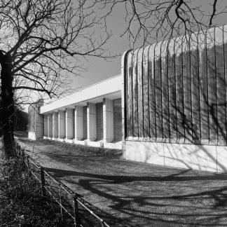 Berlin's Bauhaus -Archiv/Museum für Gestaltung - waterside
