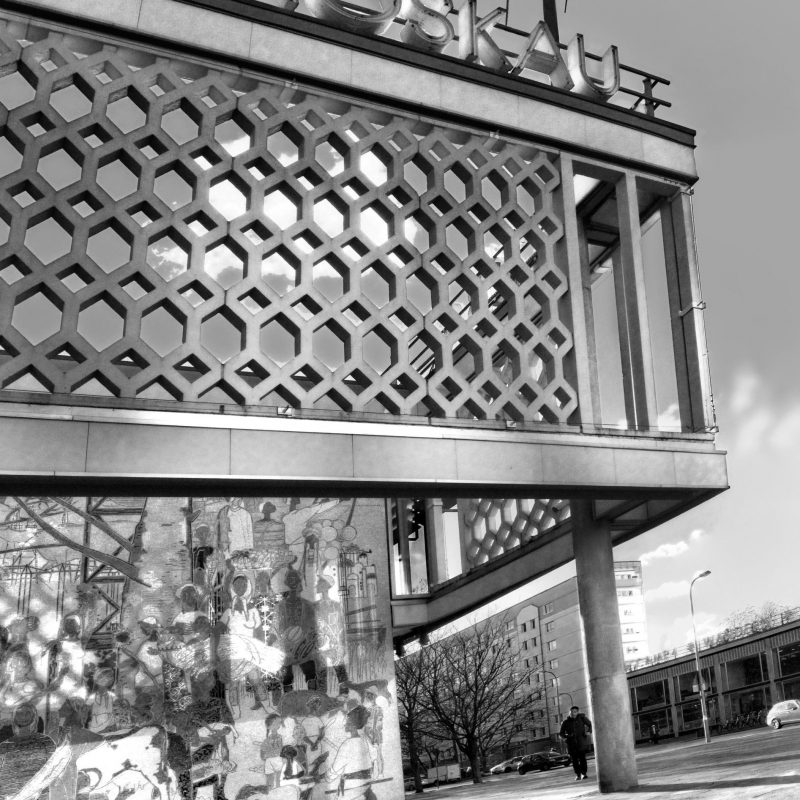 Cafe Moscau Berlin Josef Kaiser architect-designer, 1964