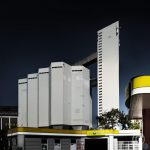 Cement handling facility - Silos Berlin Harbour - Behala Westhafen