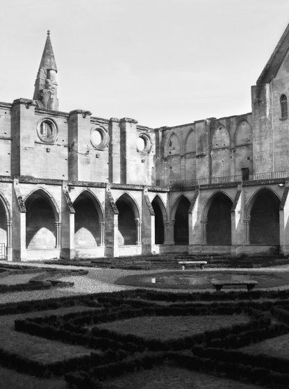 Senlis Abbey, France Patio