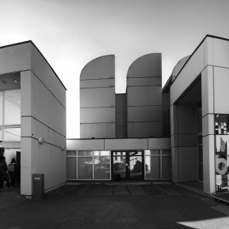Entree - Das Bauhaus-Archiv / Museum für Gestaltung - June 29 - last Open Day 2018 Walter Gropius, Alex Cvijanovic, Hans Bandel, (1976-1979)