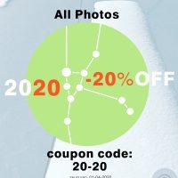 Category - 2020 | Twenty-Twenty = -20% OFF (Coupon Code: 20-20)