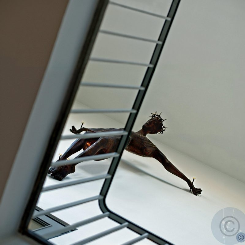 He is upstairs - #2 Kruzifix, Gerhart Schreiter (1909 - 1974) St. Matthew Berlin