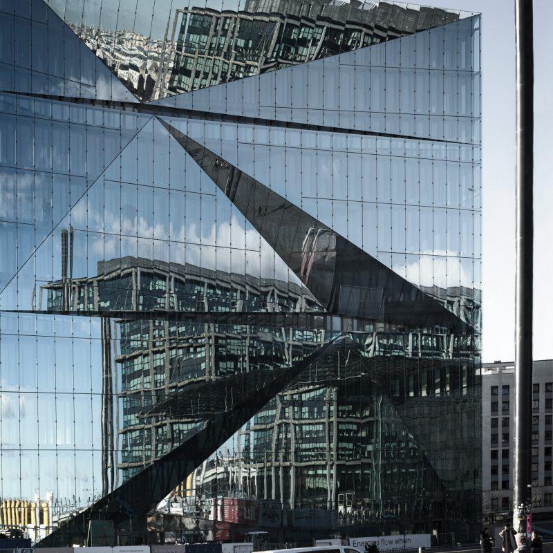 Energy Flow mirrors Cube Berlin #2 3XN, Copenhagen, 2020