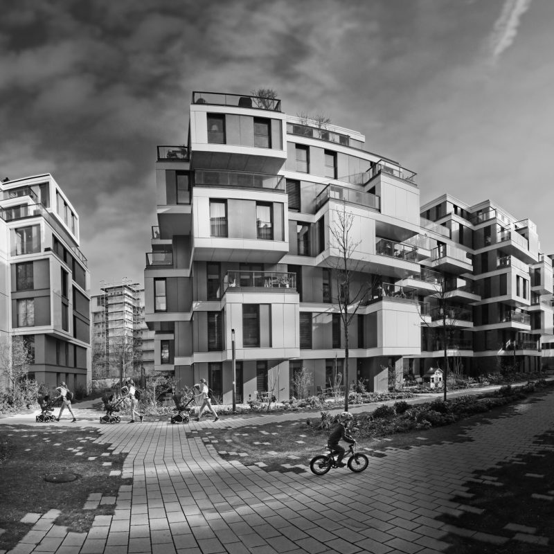 The garden's chalet The garden residential complex Berlin Eike Becker_Architekten, 2016